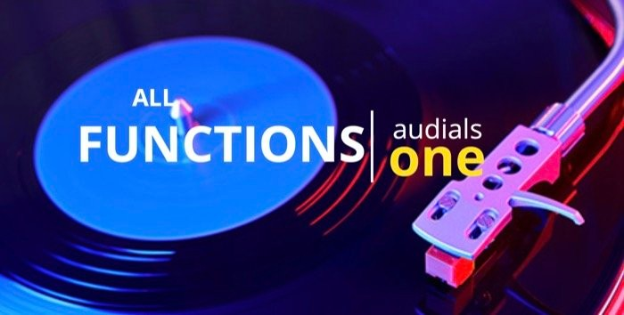Audials One features