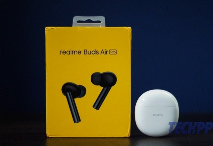 Realme Buds Air Pro box contents