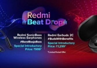 Redmi Earbuds 2C and Redmi SonicBass Wireless Earphones Launched in India