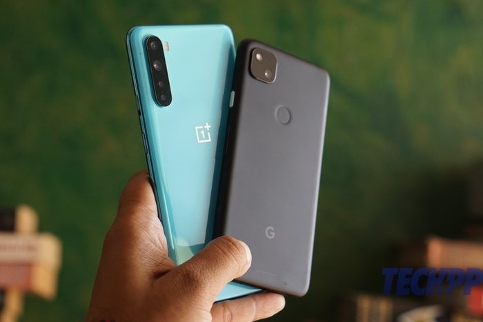 pixel 4a vs oneplus nord 1
