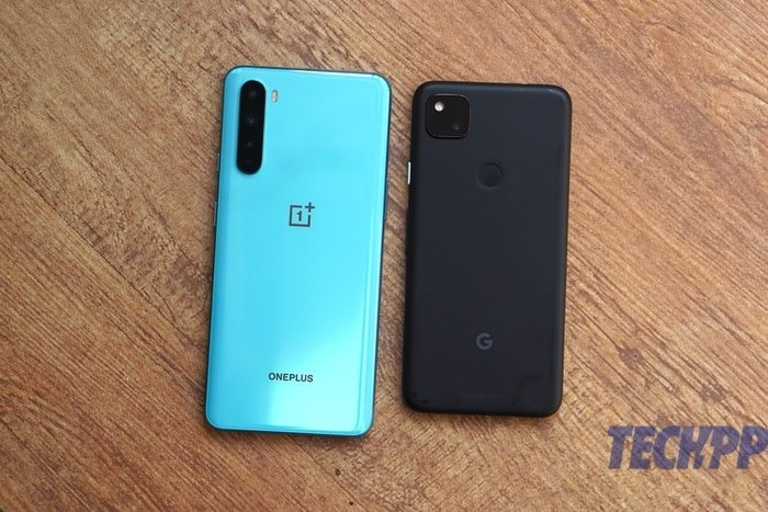 pixel 4a vs oneplus nord 8