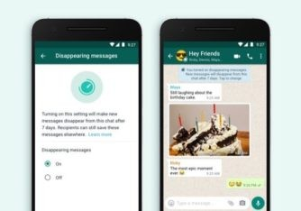 WhatsApp introduces Disappearing Messages that disappear after 7 days