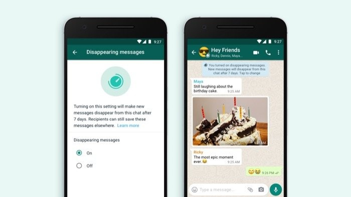 Disappearing Messages WhatsApp
