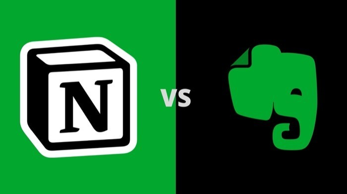 Evernote vs Notion