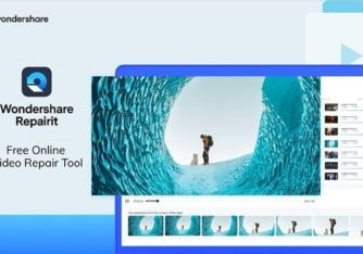 Wondershare Repairit Online is a free web tool to repair corrupted video files