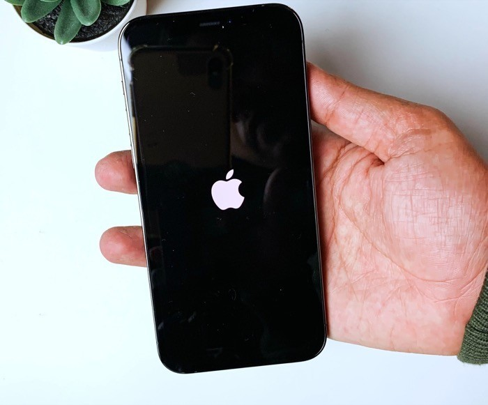 Switch on your iPhone
