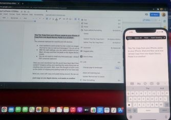 How to Copy from your iPhone and Paste to your Mac or iPad (and vice versa)