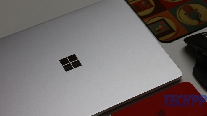 surface laptop go review students