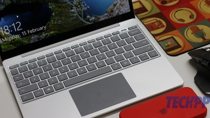 surface laptop go keyboard