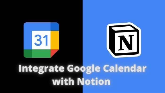 Google Calendar and Notion integration