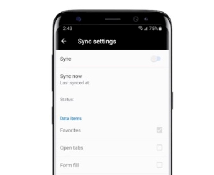 Sync Mozilla Firefox data between computer and phone