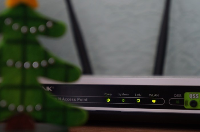 check router connection status