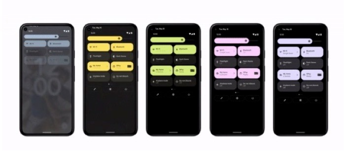 Android 12 beta personalization