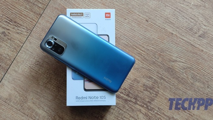 Redmi Be aware 10S: The Be aware with an 'S' issue
