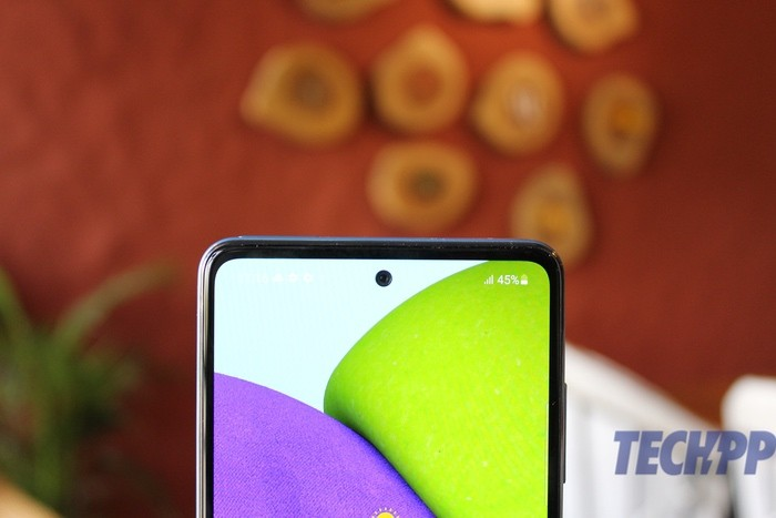 samsung galaxy A52 review 21