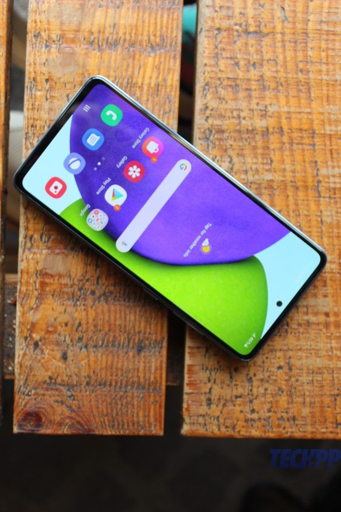 samsung galaxy A52 review 7 rotated