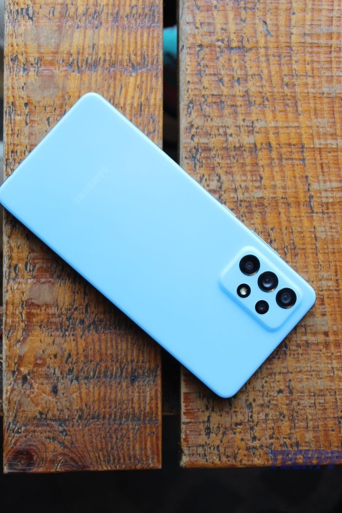 samsung galaxy A52 review 9 rotated