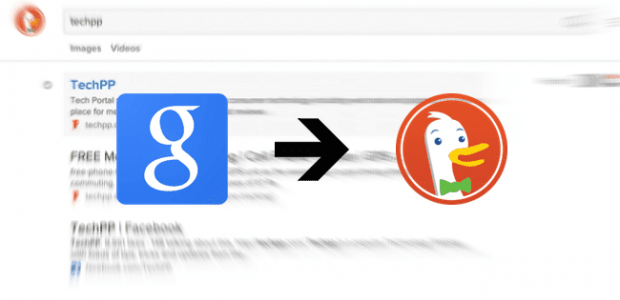Google to DuckDuckGo