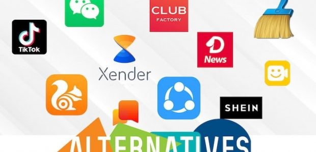 Chinese apps alternatives